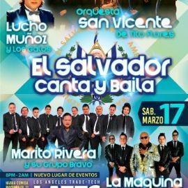 Image for El Salvador Canta y Baila con Orquesta San Vicente, Lucho Munoz, Marito Rivera y La Maquina