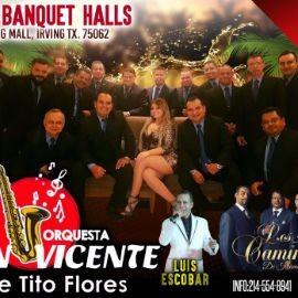 Image for Orquesta San Vicente de Tito Flores & Los Caminantes en Irving,TX