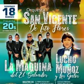 Image for Orquesta San Vicente, La Maquina de El Salvador & Lucho Muñoz en Las Vegas,NV