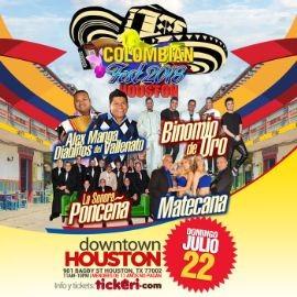 Image for Colombian Fest Houston 2018 con La Sonora Ponceña, Matecaña, Binomio de Oro & Alex Manga Los Diablitos en Houston,TX