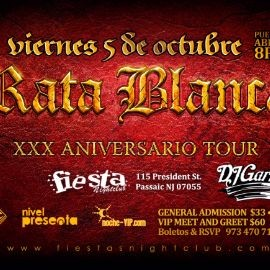 Image for Rata Blanca en New Jersey