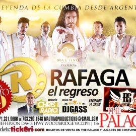 Image for RAFAGA EL REGRESO TOUR