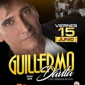Image for Guillermo Davila con orquesta en vivo •  Queens NY