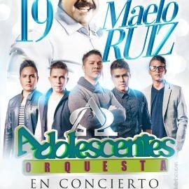 Image for MAELO RUIZ Y ORQUESTA ADOLESCENTES EN LOS ANGELES