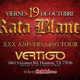 Image for Rata Blanca en Houston,TX