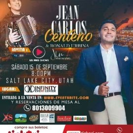 Image for Jean Carlos Centeno & Ronald Urbina en Salt Lake City