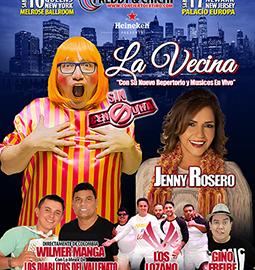 Image for LA VECINA SIN CENSURA EN NEW JERSEY!  5 ARTISTAS EN UNA NOCHE! EL MEJOR SHOW DE COMEDIA BAILABLE DEL AÑO