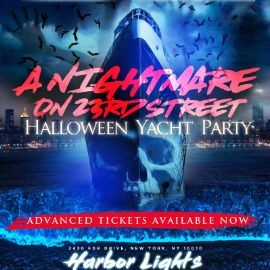 Image for A Nightmare On 23rd Street Halloween Yacht Party At Harbor Lights