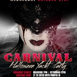 Image for Carnival Halloween Yacht Party At Cabana Yacht