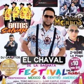 Image for 2do FESTIVAL INDEPENDENCIA MEXICO & CENTRO AMERICA CON EL CHAVAL En Hanahan,SC