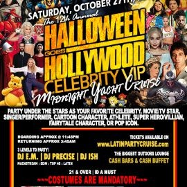 Image for Halloween Goes Hollywood Midnight Cruise