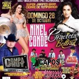 Image for Ninel Conde, El Compa Chuy, Graciela Beltran & Mas en Richmond,VA