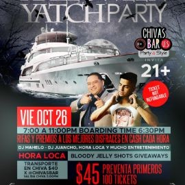 Image for Sexiest and scariest Halloween yatch party!