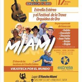 Image for Festival De La Trova Orquídea De Oro en Miami CANCELADO