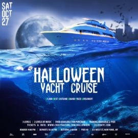 Image for NYC HALLOWEEN MASQUERADE BOAT PARTY - *FREE MASK*
