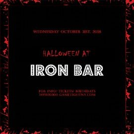 Image for Iron Bar Halloween party 2018