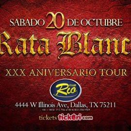 Image for Rata Blanca en Dallas,TX
