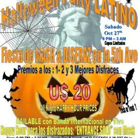 Image for HALLOWEEN PARTY LATINO in 5th Ave in Manhattan
