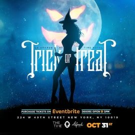 Image for Trick Or Threat Halloween Party At Le Grande Lounge Time Hotel