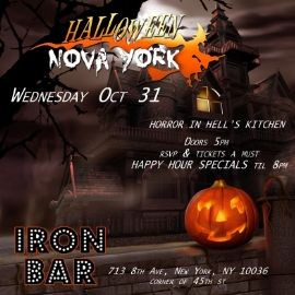 Image for Halloween Nova York Party At Iron Bar & Lounge