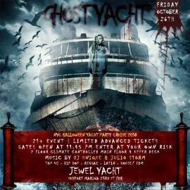 Image for Halloween Ghost Yacht Party At Jewel Yacht