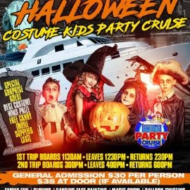Image for Halloween Costume Kids Party Cruise (3:00pm-6:30pm)
