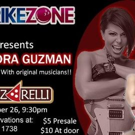 Image for ALEJANDRA GUZMAN TRIBUTE AT STRIKEZONE EL CENTRO