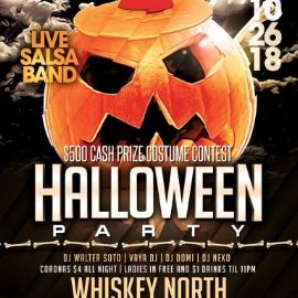 Image for Halloween Party $500 Cash Prize Costume Contest With Live Salsa Band