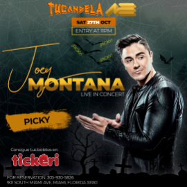 Image for Joey Montana Live In Concert Halloween Party