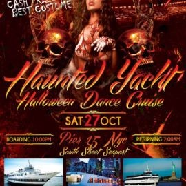 Image for Haunted Yacht Halloween Dance Cruise at Hornblower Serenity Yacht