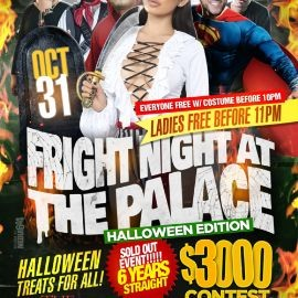 Image for Fright Night At The Palace VA $$$ 3000 Halloween Contest $$$