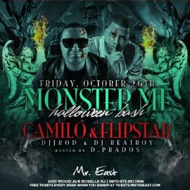 Image for Halloween Monster Ball Bash DJ Camilo Live At Mister East