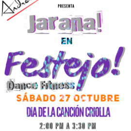 Image for Festejo! Dance Fitness Canción Criolla