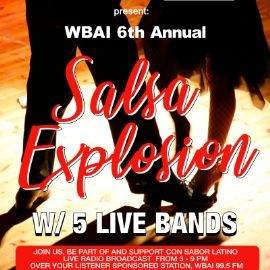 Image for WBAI 6th Annual Salsa Explosion Ft. Johnny Dandy Rodriguez + His Dream Team, La Charanga Pacha, Luisito & Robert Quintero Salsa Project & Yambawa, Bobby Allende + Ocho Y Mas