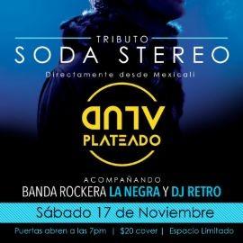 "Image for ""Soda Stereo... El Tributo por Alud Plateado"""