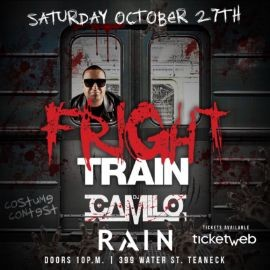 Image for Fright Train Halloween Party DJ Camilo Live At Rain On Water