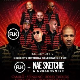 Image for Flk Birthday Bash Spifftv Live With DJ Camilo At Vacca Lounge