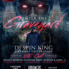 Image for Halloween Party DJ Spinking Birthday Bash 50 Cent Live At Amadeus Nightclub