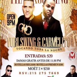 Image for YURI SWING & CARMELITO EN PHILADELPHIA,PA