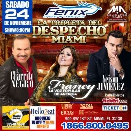 Image for LA TRIPLETA DEL DESPECHO EN MIAMI