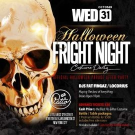 Image for Halloween Fright Night Costume Party at The Patio