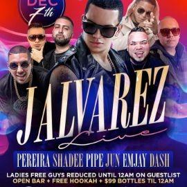 Image for Open Bar Fridays J.Alvarez Live At SL Lounge