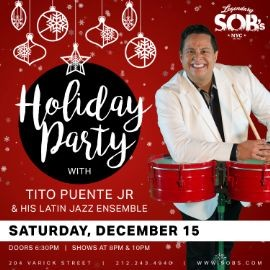 Image for SOB's Celebrates The Holidays With Tito Puente Jr. & His Latin Jazz Ensemble