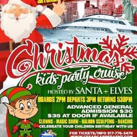 Image for Christmas Kids Party Cruise (3:00pm-5:30pm)