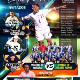 Image for Leyendas de Honduras vs. Leyendas de Orlando en Orlando,FL