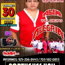 Image for ALIN Y EL GRUPO ALEGRIA EN CONCIERTO EN  ST. ANTIOCH,CA