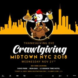 Image for Crawlgiving Midtown NYC 2018