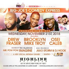 Image for Thanksgiving Eve Comedy Express At Highline Ballroom