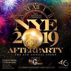 Image for NYE 2019 After Party At 46 Lounge