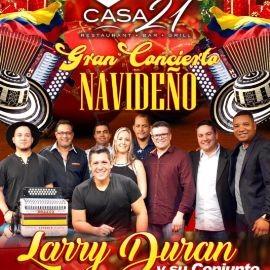 Image for Gran Concierto Navideño con Larry Duran en Tampa,FL
